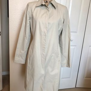 Trench coat by Ann Taylor Loft